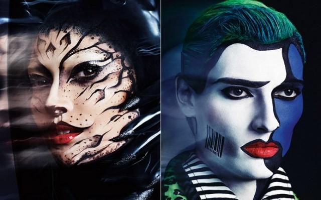 MAC Cosmetics Halloween tutorial 3