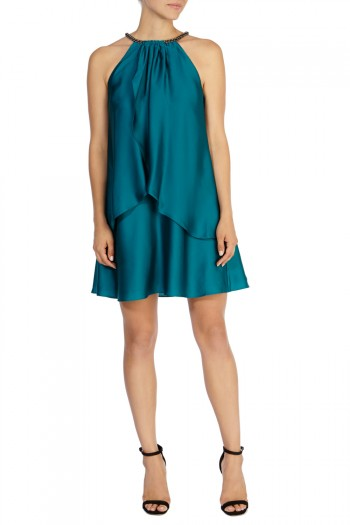 Marley Satin Trim Dress