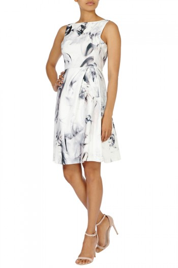 Tritin Print Dress