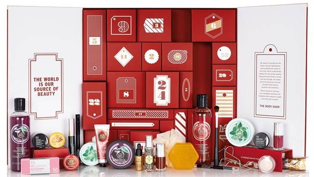 bodyshop beauty advent calendar