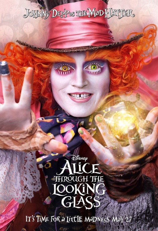 Alice-Through-Looking-Glass-Poster