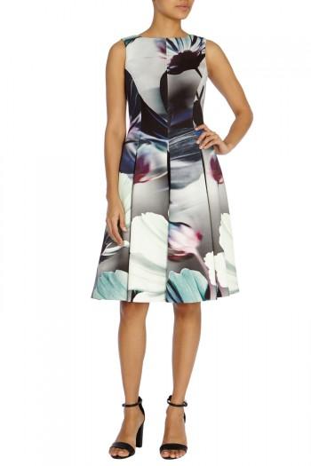 Haleni Print Dress