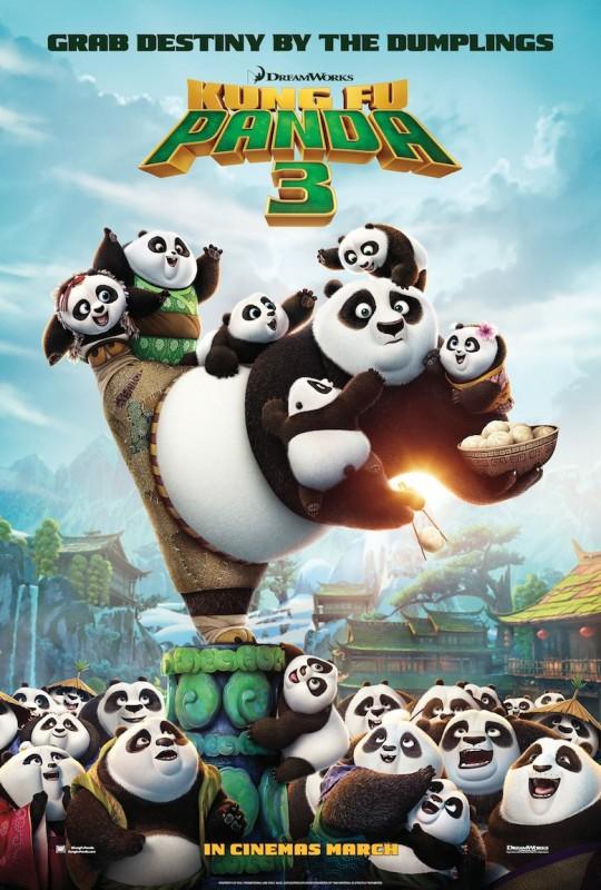 Kung Fu Panda 3 Second Teaser Poster