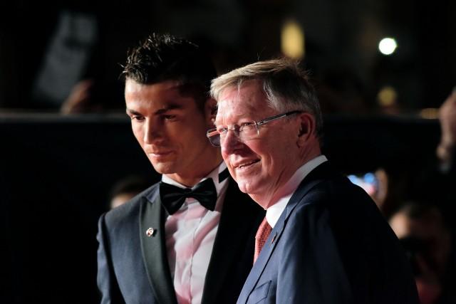 09/11/2015 'Ronaldo' World Premiere at Vue, Leicester Square Cristiano Ronaldo and Sir Alex Ferguson