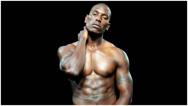 tyrese gibson topless
