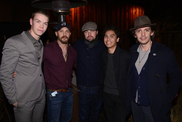"""""""The Revenant"""" Party at MadeWorn on Tuesday, Dec. 15, 2015, in Los Angeles. (Photo by Dan Steinberg/Invision for Twentieth Century Fox/AP Images)"""