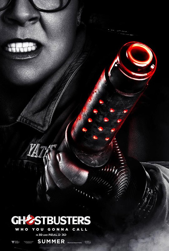 Melissa McCarthy Ghostbusters poster