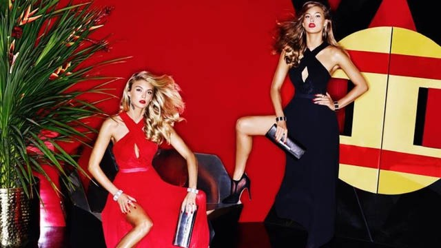 e0050431e24 Sequins and sexiness its the Guess holiday campaign