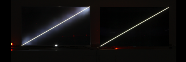 < Black Colors and Contrast: LCD TV vs. LG OLED TV >