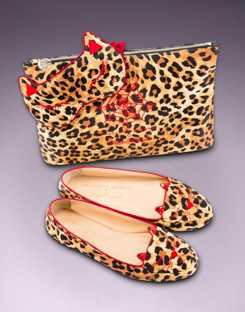 Cat Nap Leopard Print Set