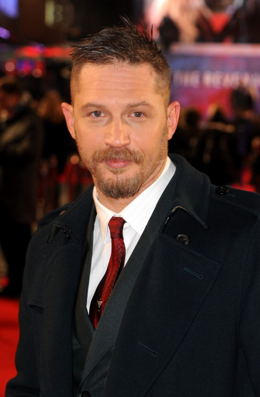 "LONDON, ENGLAND - JANUARY 14: Tom Hardy attends UK Premiere of ""The Revenant"" at Empire Leicester Square on January 14, 2016 in London, England.  (Photo by Dave J Hogan)"