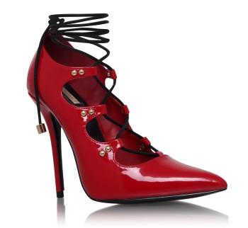 GOGO Carvela Kurt Geiger Red High Heel Court Shoes