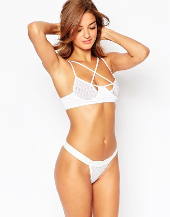 Skivvies For Love & Lemons Aimee Underwire Bra and thong