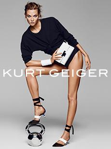 karlie Kloss Kurt Geiger ads 2016