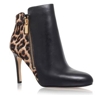 michael kors Black High Heel Ankle Boots
