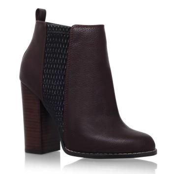 kurt geiger sale miss kg Wine High Heel Ankle Boots
