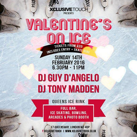 valentines on ice Best Valentines Parties 2016
