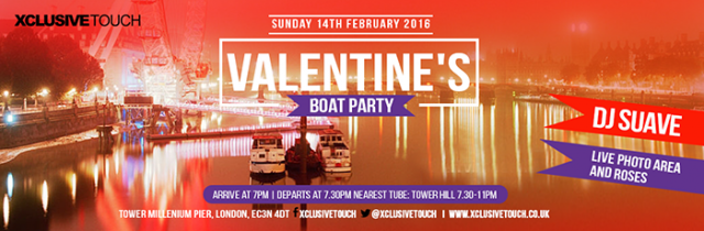Best Valentines Parties 2016 the boat party