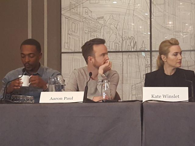 Triple 9 Press Conference