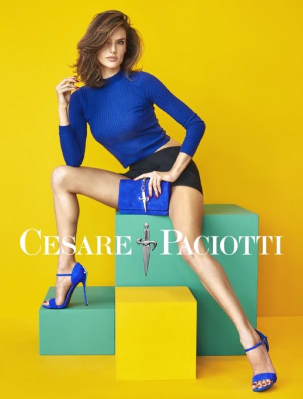 Alessandra Ambrosio Cesare Paciotti Spring-2016 Campaign