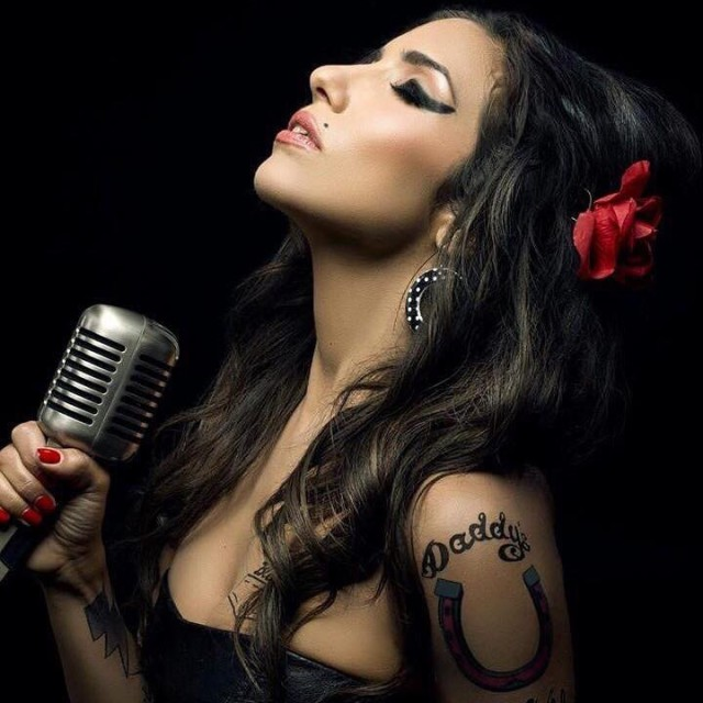 Ellie Torrez As Amy Winehouse at the Icon Shoot