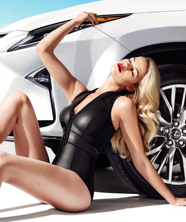 Hailey Clauson Lexus ad campaign