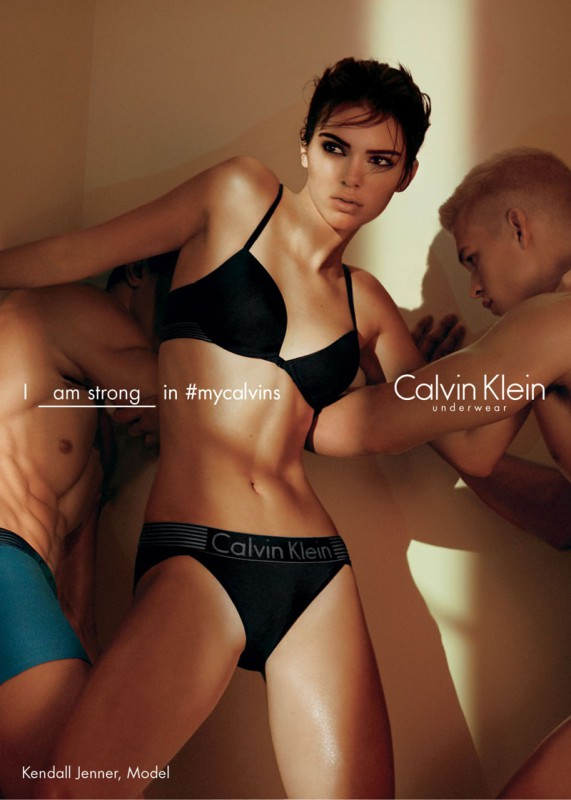 Kendall Jenner Calvin Klein 2016 Campaign