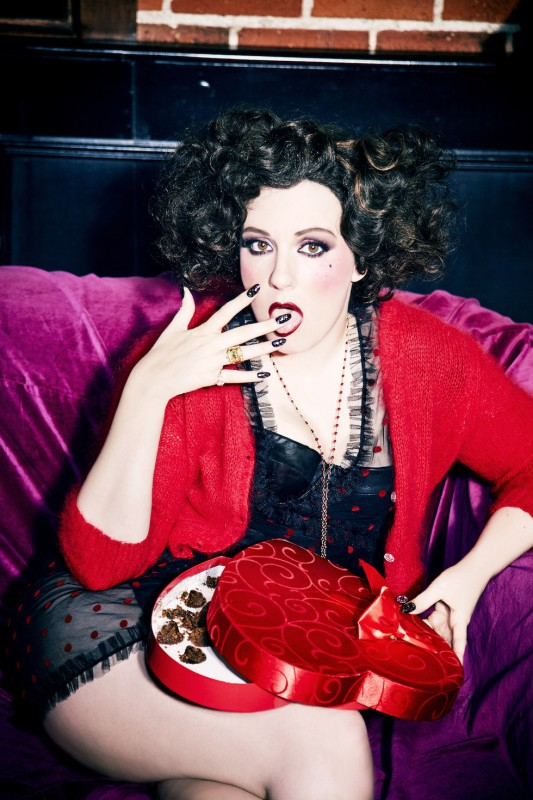 Lena Dunham Paper Magazine photoshoot - Photographed by Ellen Von Unwerth
