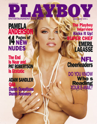 pamela anderson playboy cover