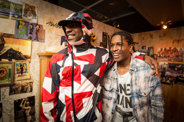 The Launch of GUESS Originals X A$AP Rocky Collection