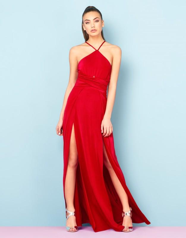 Ariana Grande For Lipsy Cutout Body Maxi Dress