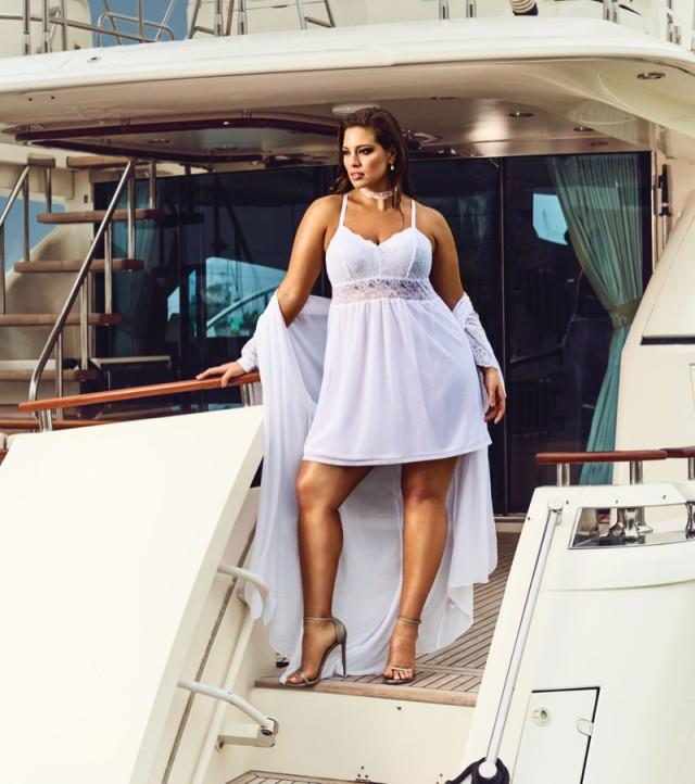 Ashley Graham Bridal lingerie collection - Dreamer