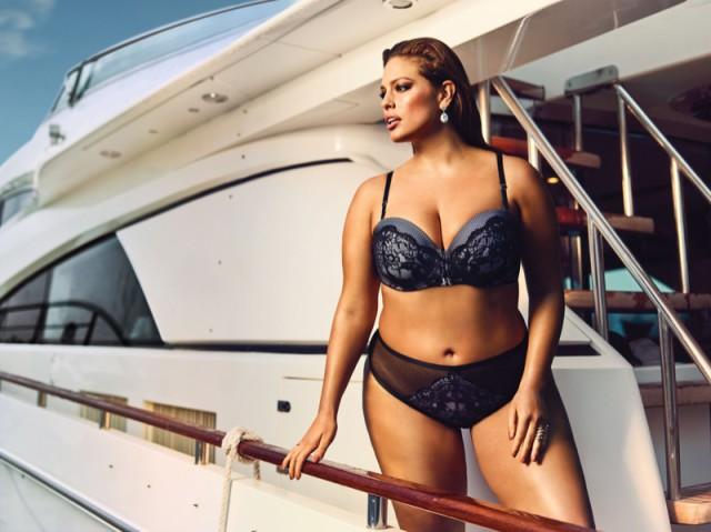 plus size brides Ashley Graham Bridal lingerie collection - Dreamer