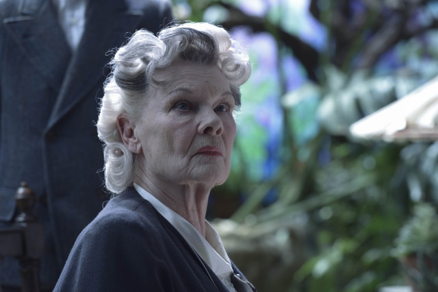 Judi Dench is Miss Avocet in MISS PEREGRINE'S SCHOOL FOR PECULIAR CHILDREN. Photo Credit: Jay Maidment.