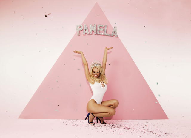 Pamela Anderson X Missguided 2016 campaign