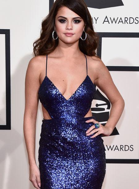 Sexiest Red-Carpet Look: Selena Gomez