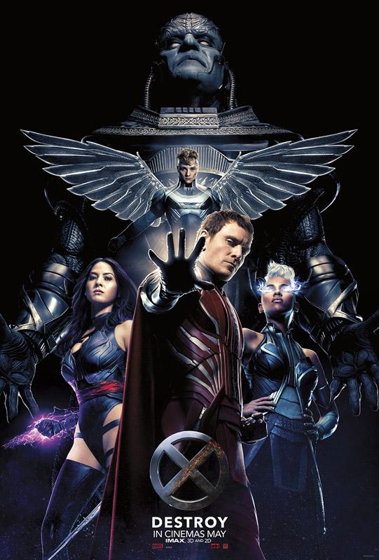 X-men Apocalypse new poster