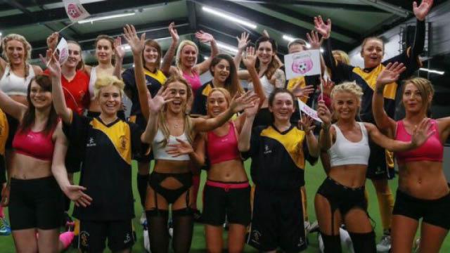 lingerie football uk