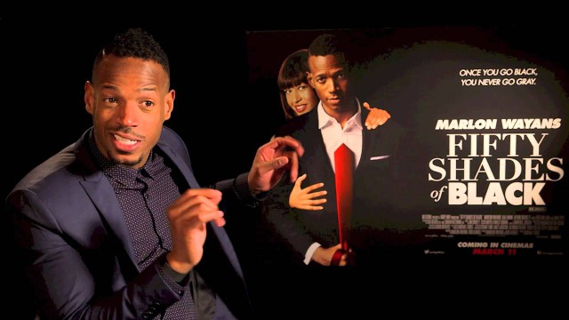 50 Shades of Black - Marlon Wayans hilarious interview