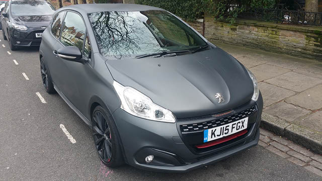 peugoet 208 GTi flavourmag review