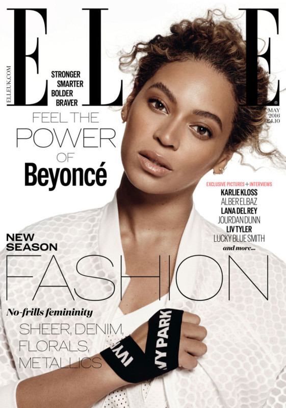 Beyonce Elle magazine cover