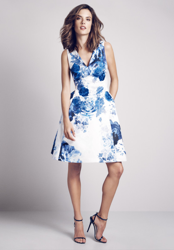 Coast Dress - Alessandra Ambrosio hot campaign