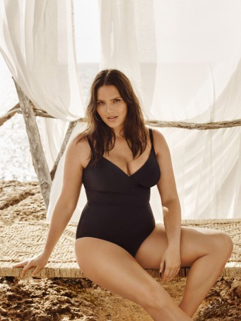 Mango plus size Candice Huffine get the look