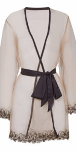 Agent Provocateur Lindie Gown Nude/Black