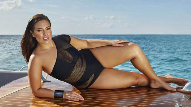 cacd7e8adaa There's no stopping her. Ashley Graham unveils swimwear ...