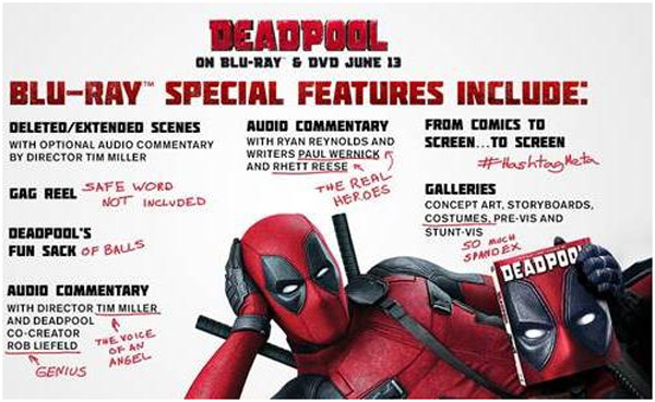 Deadpool Extras