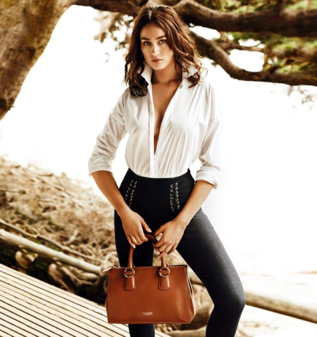 Tina Lozovskaia stars in Guess Jeans summer 2016 campaign