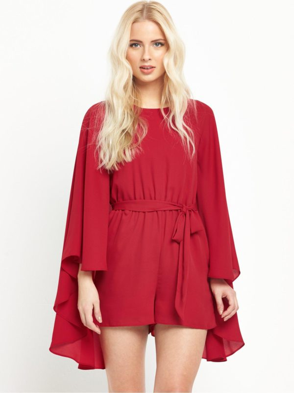 V by Very Cape Playsuit