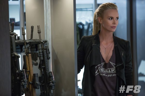 First look image of Charlize Theron as Cipher in Fast 8
