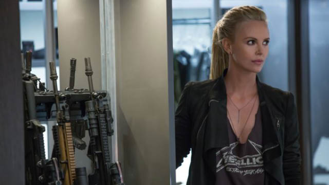 charlize theron in fast 8 as cipher